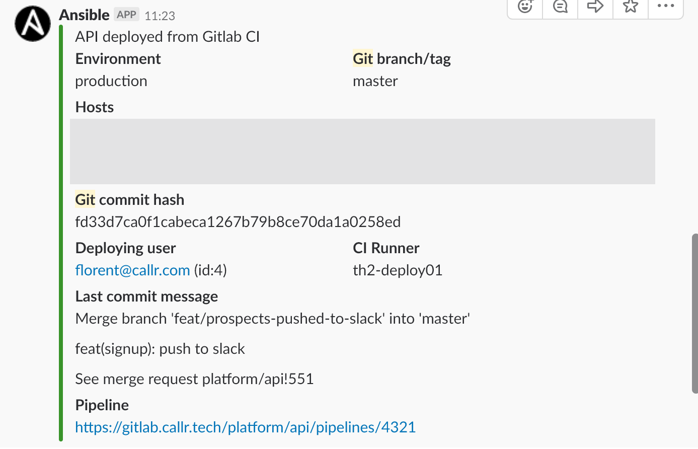 CI/CD: Using GitLab + Docker + Ansible · Callr Tech Blog